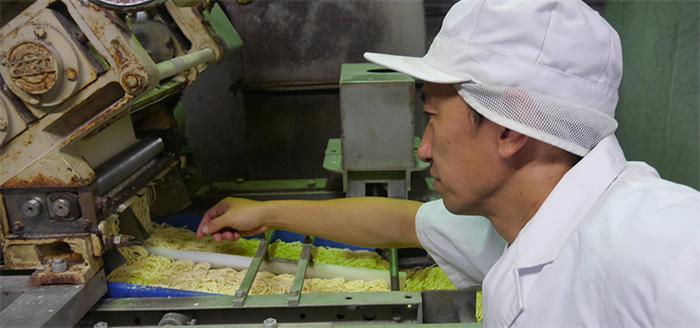 本場・横浜の麺職人が製造
